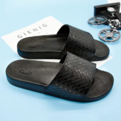 Bambino Gienig 2018 home slippers antiskid breathable section Four seasons anytime could be household indoor shoes men slippers