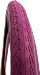 Paarse Delitire Deli Tire Deli buitenband 22x1.75 2089 R purple