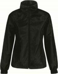 Bc Gevoerde regenjas/windjas voor dames zwart - RainFree windjas - Winddicht - Waterafstotend - Warmte isolerend