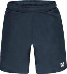 Marineblauwe Re-Born Sports Re-Born Geweven Stretch Short Heren - Navy - Maat S