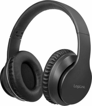 Afbeelding van LogiLink Bluetooth Headset,Active-Noice-Cancelling,V5.0,zwart