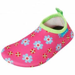 Playshoes - Kid's UV-Schutz Barfuß-Schuh Blumen - Watersportschoenen maat 30/31, roze