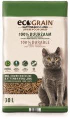 EcoGrain Kattenbakvulling 30 liter