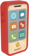 Rode Mertex Trading Janod Telefoon met geluid