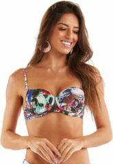Mar Rio - Natureza Oriental - Bikini top - maat 36 - Bloemenprint