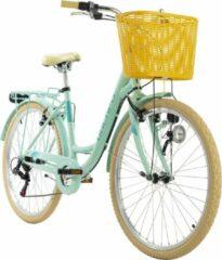 Ks Cycling Fiets Stadsfiets 6 versnellingen Cantaloupe 26 inch groen - 48 cm