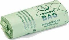 Groene De  Bries Afvalzakjes rol voor de Ecodutch - compostbags - biobags - composteerbare afvalzakjes - gft afvalzakjes