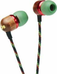 House of Marley Smile Jamaica 2 Bluetooth oortjes - draadloze oordopjes met microfoon - groen
