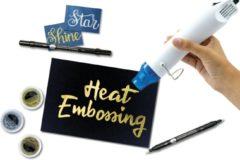 Embossing Starter Set met Heat Gun, Poeder en 2 Embossingpennen
