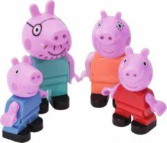 Roze BIG Bloxx Peppa Pig Peppa´s Family - Constructiespeelgoed