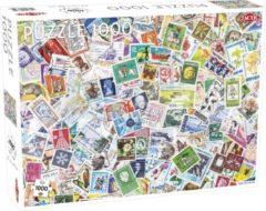 Tactic Legpuzzel Stapel Postzegels 67 X 48 Cm 1000 Stukjes