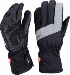 Zwarte BBB cycling SubZero Full Fingers Fietshandschoenen Maat XS