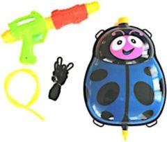 Funny Toys Waterpistool Met Tank Junior 35,5 Cm Blauw 5-delig