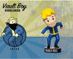 Blauwe Merkloos / Sans marque Fallout 3: Vault Boy Bobblehead - Sneak