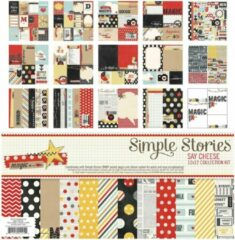 "Simple Stories: Say cheese 12x12"" collection kit (SAY3300)"