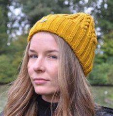Piri Sport Hats & Co beanie voor de moderne vrouw - kleur mosterd