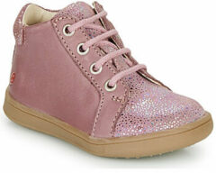 Paarse Hoge Sneakers GBB FAMIA