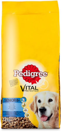 Afbeelding van Pedigree Vital Protection - Senior droge brokken - Kip Met Rijst - Hondenvoer - 13 kg
