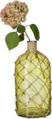 Relaxdays Deko Flasche maritim grün