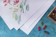 Witte CANSON tekenpapier 'C' à Grain, DIN A4, 125 g/qm