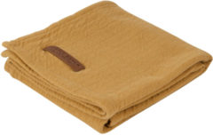Gele Little Dutch Swaddle doek 120 x 120 - pure ochre
