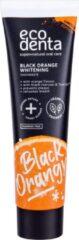 Ecodenta - Toothpaste Black Orange Whitening - Zubní pasta pro dokonale bílé zuby s pomerančovou příchutí