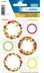 HERMA 15447 Stickers kitchenlabels voor deksel new look fruit I