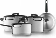 Roestvrijstalen BergHOFF - 7-delige kookpottenset – Downdraft - Gem