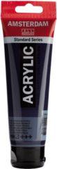 Blauwe Royal Talens Standard tube 120 ml Pruisischblauw (phtalo) halftransparante acrylverf pruisisch blauw