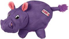 Kong Phatz Hippo - Hondenspeelgoed - Paars Medium