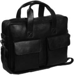 Zwarte The Chesterfield Brand Chesterfield Ethan Laptop Bag black