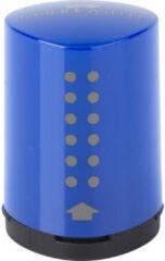 Puntenslijper Faber Castell GRIP 2001 mini blauw/rood assorti.