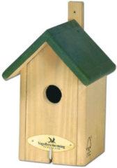 Vogelbescherming Nestkast Little Rock - Winterkoning / kleine Mezennestkast - Groen - 22x12x22 cm