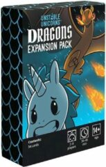 Breaking Games Unstable Unicorns Dragons Expansion - Engelstalig Kaartspel