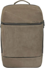 Bruine Salzen Savvy Leather Daypack Backpack Weims Taupe
