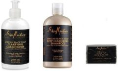Shea Moisture African Black Soap SET
