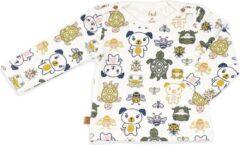 Frogs and Dogs - Shirt Friends Of Mini - Wit - Maat 68 - Jongens, Meisjes