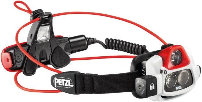 Afbeelding van Petzl NAO+ LED Hoofdlamp werkt op een accu 750 lm 12 h E36AHR 2B