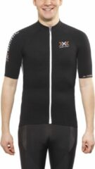 X-Bionic Bike Race The Trick heren jersey Full Zip zwart - Maat L