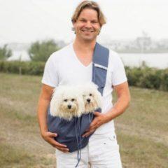 Blauwe 4LazyLegs Pocket Draagzak voor Honden tot 15kg