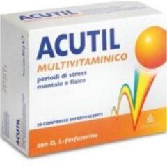 Acutil Multivitaminico Integratore Energetico 20 Compresse Effervescenti