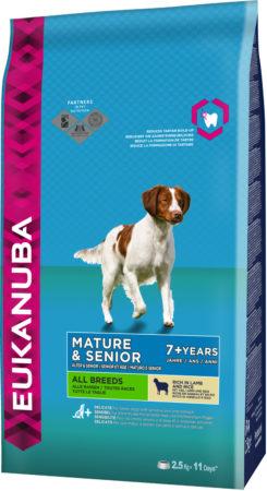 Afbeelding van Eukanuba Dog Mature & Senior - All Breeds - Lam/Rijst - Hondenvoer - 2.5 kg