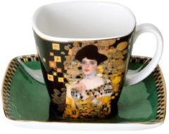 Adele Bloch-Bauer - Espressotasse Artis Orbis Goebel Schwarz