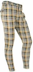Beige Ferlucci Lange broek Heren Pantalon XS