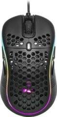 Zwarte Sharkoon Light² S muis Ambidextrous USB Type-A Optisch 6200 DPI