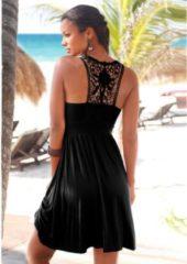 Zwarte Lascana strandjurk