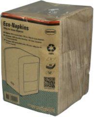 CABANAZ - tissues, 100% gerecycled materiaal, ECO NAPKINS, 250 stuks, bruin