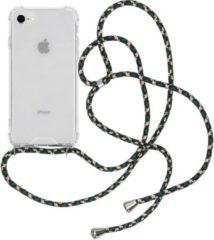 IMoshion Backcover met koord iPhone SE (2020) / 8 / 7 hoesje - Groen