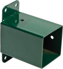 Groene JoyPet.eu Schommel hoekverbinding 'muur' - vierkant 90/90 - groen