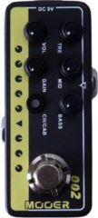 Mooer Micro Preamp 002 UK Gold: 900 overdrive effectpedaal